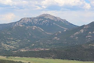 Twin Sisters Peaks mountain in United States of America