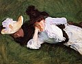 Two Girls Lying on the Grass John Singer Sargent 1889.jpeg
