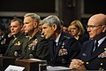 U.S. Air Force Chief of Staff Gen. Norton A. Schwartz, second from right, testifies before the Senate Armed Services Committee during a hearing at the Dirksen Senate Office Building in Washington, D.C., Dec 101203-F-EK235-631.jpg