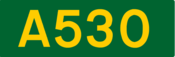 A530 road shield