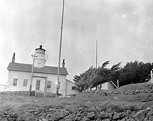 Battery Point Light - Image: USC Gbatterypoint