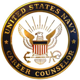 Career Counselor Badge - Navy Career Counselor Badge