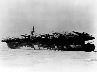 USS <i>Kadashan Bay</i> Casablanca-class escort carrier of the US Navy
