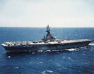 USS <i>Kearsarge</i> (CV-33) Essex-class aircraft carrier of the US Navy
