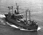 USS Mount McKinley (AGC-7) underway in early 1960s.jpg