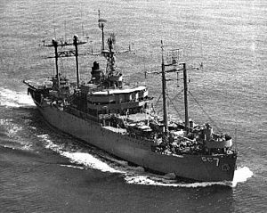USS Mount McKinley (AGC-7) underway in early 1960s.jpg