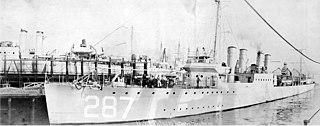 USS <i>Putnam</i> (DD-287)