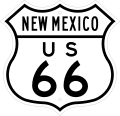 US 66 New Mexico 1948.svg