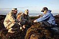 US Navy 110603-N-PM781-006 Lt. Dustin Burton and Lt. Richard Vallejos, both assigned to Maritime Expeditionary Security Squadron (MSRON) 1, work wi.jpg