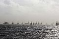 US Navy 111104-N-IO627-027 U.S. Navy and Japan Maritime Self-Defense Force ships are underway in formation during Annual Exercise (ANNUALEX ) 2011.jpg