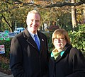 US Representative Chris Van Hollen and Board of Education Member Patricia O'Neill (5141387382).jpg