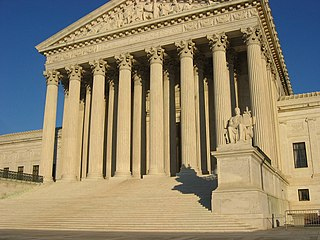 Ability of a court in the US to examine laws to determine if it contradicts current laws