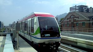 Uijeongbu - Image: U Line Train