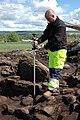 Uddagårdens gånggrift (RAÄ-nr Karleby 105) utgrävning 2005-06-01 0031.JPG
