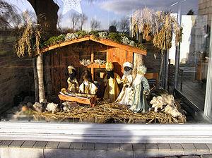 Ulsted Kirke,Aalborg Stift, Julekrybbe, presep...
