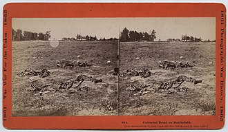 Battle of Gaines's Mill - Image: Unburied Dead on Battlefield. (19948752786)