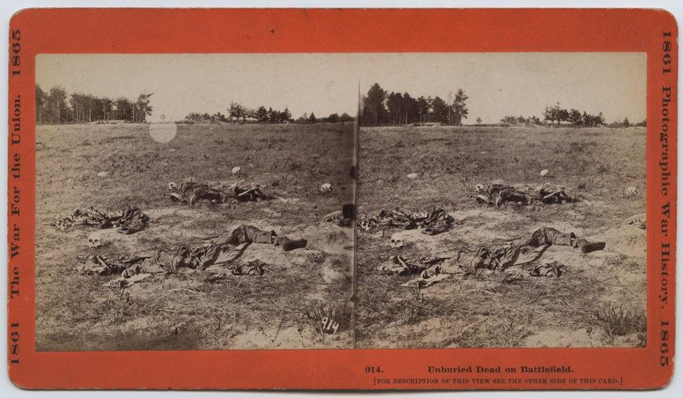 Unburied Dead on Battlefield. (19948752786)