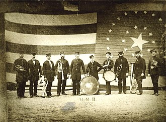Cape Elizabeth, Maine - Union Brass Band in 1873