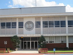 Union Parish Courthouse i Farmerville.