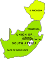 Union of South Africa provinces and Rhodesia.png