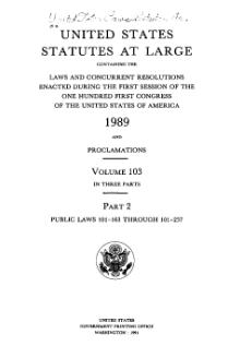 United States Statutes at Large Volume 103 Part 2.djvu