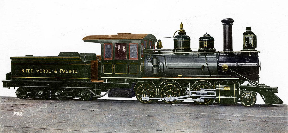 United Verde & Pacific Railway - Wikipedia Pacific Railway Company