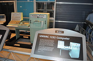 UNIVAC 490 - A Univac 1232 at the Smithsonian National Air and Space Museum.