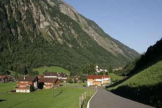 Unterschächen - Image: Unterschaechen Dorf