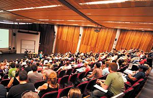 University of Newcastle (Australia) - Nursing Lecture Theatre near Hunter Building, Callaghan campus (formally the Richardson Theatre)