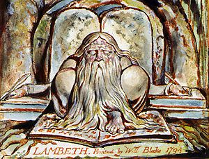 Urizen - Image: Urizen by William Blake