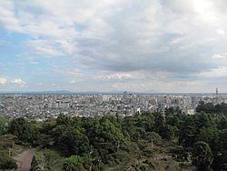Utsunomiya City South East Area viewing from Utsunomiya Tower.jpg