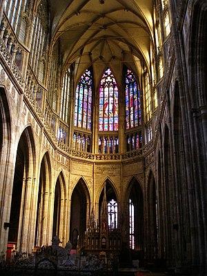 Czech Gothic architecture - Image: Vít interiér