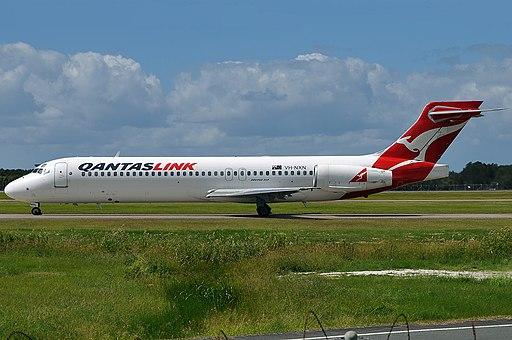 VH-NXN Boeing 717-231 QantasLink (National Jet Systems) (8149874983)