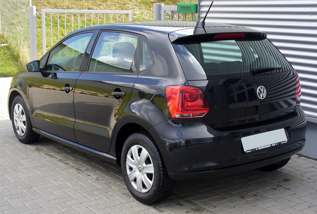 file vw polo v 1 2 trendline heck jpg wikimedia commons. Black Bedroom Furniture Sets. Home Design Ideas