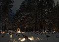 Vabadussõjas hukkunute matmispaik Võru linnakalmistul 2009.jpg