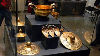 Thracian treasure - Image: Valchitran treasure