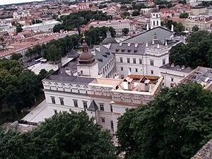 Das rekonstruierte Schloss der Großfürsten