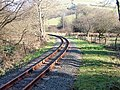 Vale of Rheidol Railway leaving Glanyrafon - geograph.org.uk - 690348.jpg