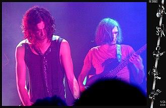 Nick Valensi - Valensi and Nikolai Fraiture, 2006