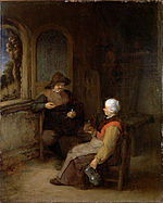 Van Ostade, Adriaen - Interior of a Cottage - Google Art Project.jpg