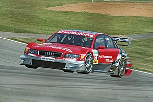 Vanina Ickx - Ickx driving for Audi (Futurecom TME) in the 2006 DTM season.