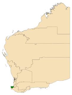 Electoral district of Vasse state electoral district of Western Australia
