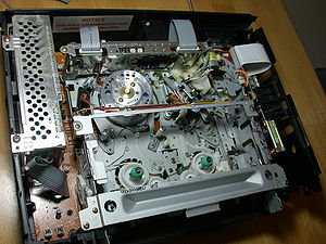 Videocassette recorder - The inside of a VCR
