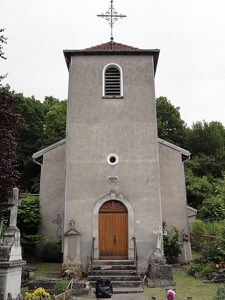 Velle-sur-Moselle (M-et-M) église