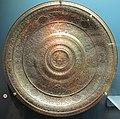 Venezia, grande piatto-vassoio, bronzo ricoperto d'argento.JPG