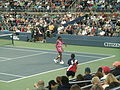 Venus and Serena Williams at the 2009 US Open 05.jpg