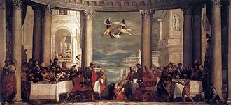 Salon d'Hercule - Image: Veronese, Paolo Feast at the House of Simon 1570 1572