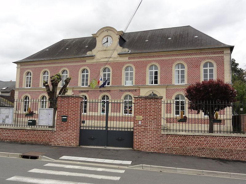 Versigny (Aisne) mairie - écoles