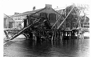 Rotterdamsche Droogdok Maatschappij - Image: Verwoesting haveninstallaties van de RDM in 1945 (02)