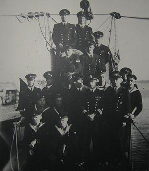 Finnish submarine Vesikko - Crew of Vesikko (July 1941)
